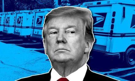 大作精上线!特朗普又表示,坚持邮寄选票,他将反对资助美国邮政服务!