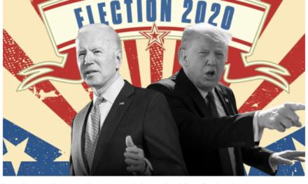 拜登在乔治亚州,宾州翻蓝,有望赢得选举,乔治亚州表示:重新计票!