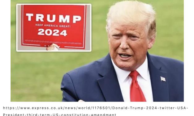 变相承认落选?特朗普称考虑再战2024年总统竞选!