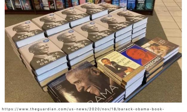 """当红""""流量""""作家,出版即热销,奥巴马新书出版,总统回忆录《应许之地》"""