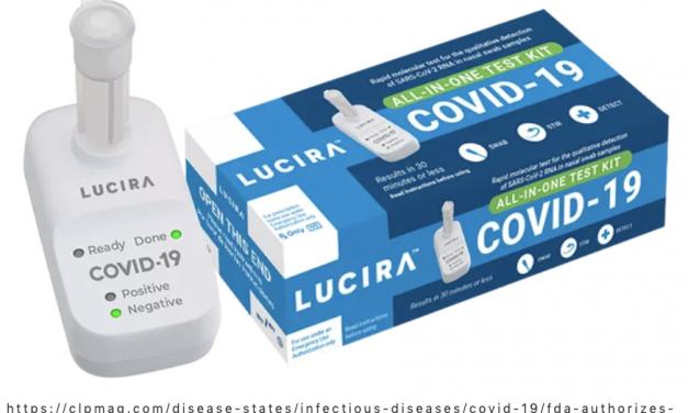 可居家自测!FDA允许紧急授权首款新冠居家试剂!