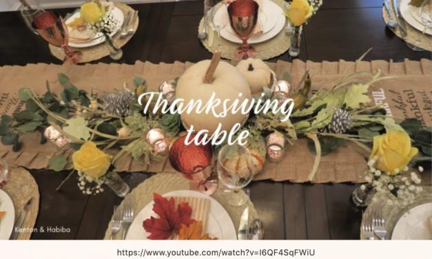 感恩节餐桌的那点事儿