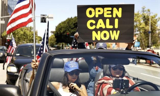 加州突然解除居家令限制?双标操作引起众怒?