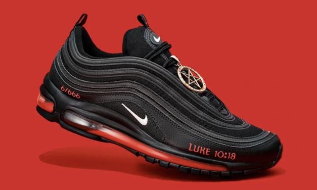 """Nike在自己老家也被""""狂骂"""",全都因为这双含人血的""""撒旦款""""球鞋"""
