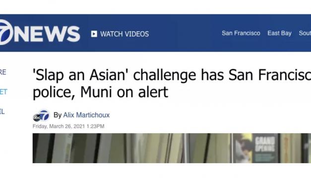 """加州居然有人发起""""扇亚裔耳光挑战""""?不可理喻,丧心病狂!"""