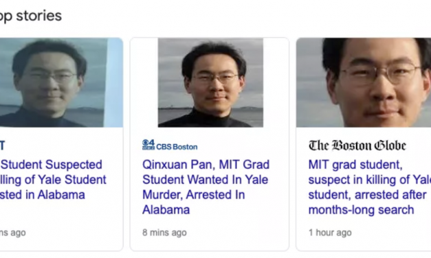 耶鲁大学杀害华裔学生的嫌疑人Qinxuan Pan已被捕!