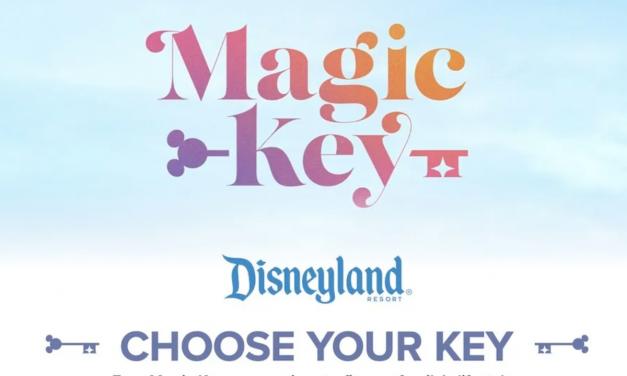 """【加·州·打·卡·图·鉴】迪士尼新推出四种""""魔法钥匙"""",出逃公主们快来选择你的专属钥匙回城堡吧~"""
