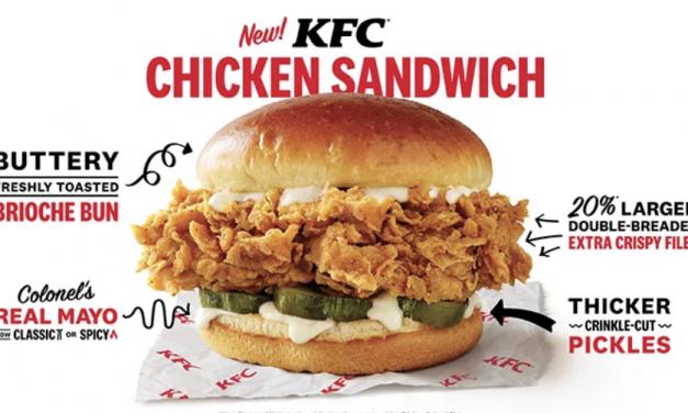 """肯德基没""""鸡""""可炸了?未来或将推出""""全素""""鸡肉汉堡!"""